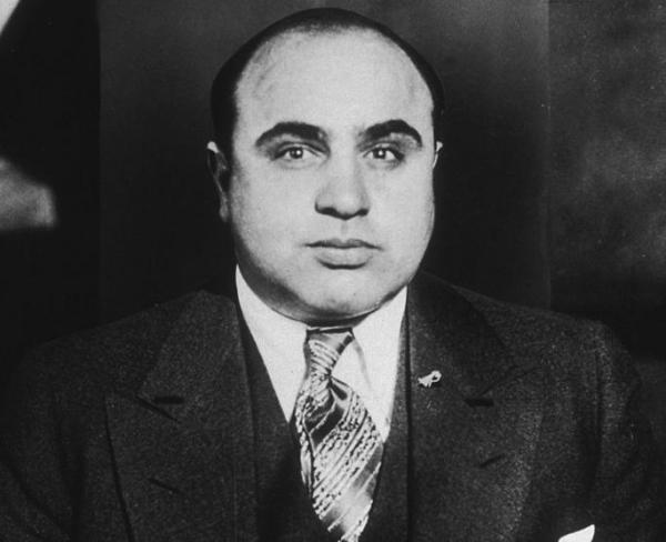 Al Capone is a bad Valentine