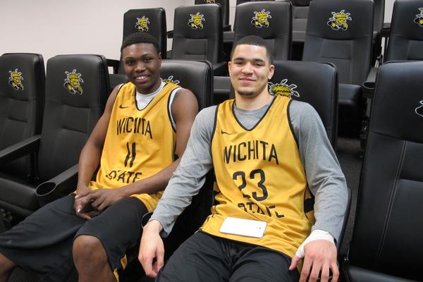 Cleanthony Early and Fred VanVleet talk brotherhood, staying focused and the support they receive from former Shockers now in the NBA.