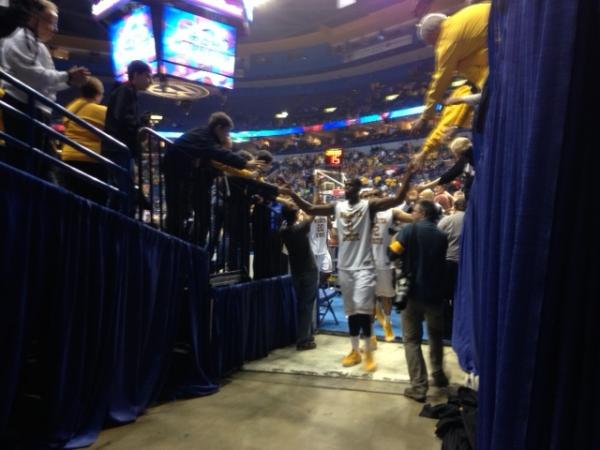 Shockers come off the floor after Victory