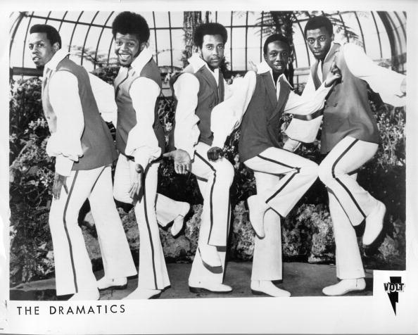 Vocal sextet the Dramatics, comprised of Rob Davis, Ron Banks, Larry Reed, Robert Ellington, Larry (Squirrel) Demps and Elbert Wilkens.