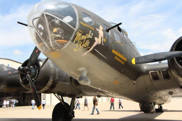 "The ""Memphis Belle,"" a B-17 that was used in the 1990 WWII film of the same name, will be in Wichita this week."
