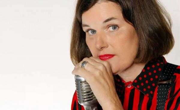 Comedian Paula Poundstone is from Sudbury, Mass. She got her start in Boston in the late 70's and early 80's.