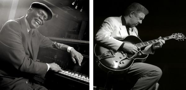 Pianist Hank Jones and guitarist Kenny Burrell, both Prestige artists