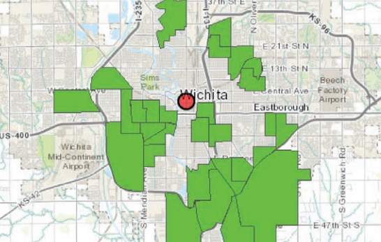 The food deserts of Wichita