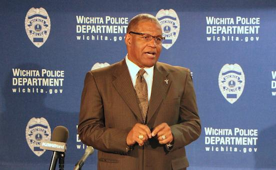 Police Chief Norman Williams announces his retirement.