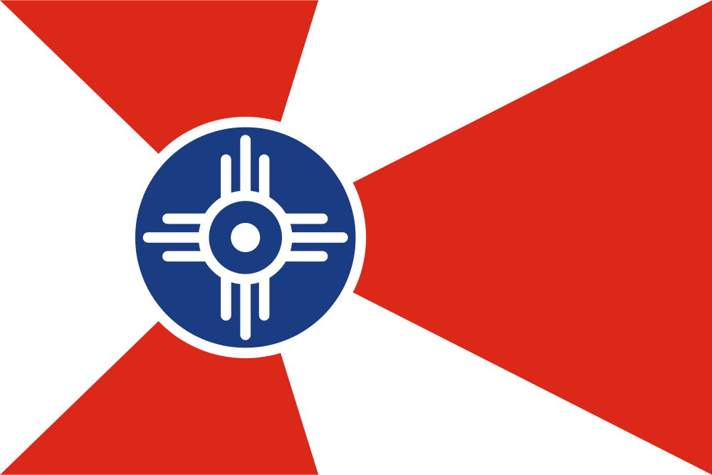 richard crowson wichitas the top flag - Flag Design Ideas