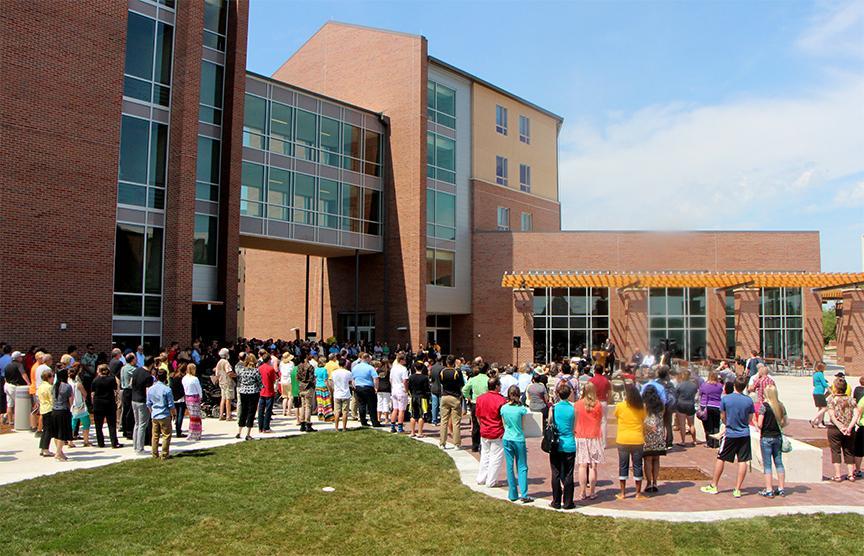 Wichita State University S Shocker Hall Makes Its Debut Kmuw