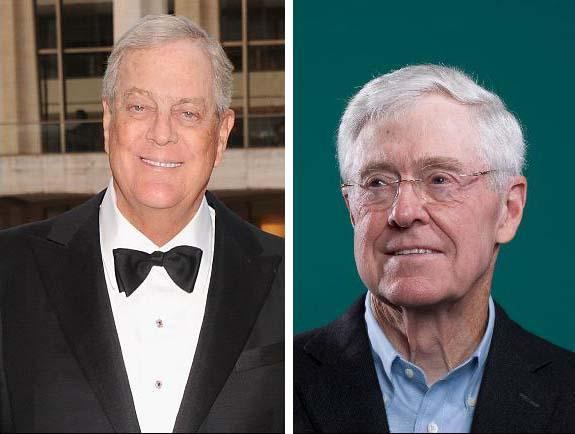 Kochs Plan 60 Percent More Spending In 2018 Elections