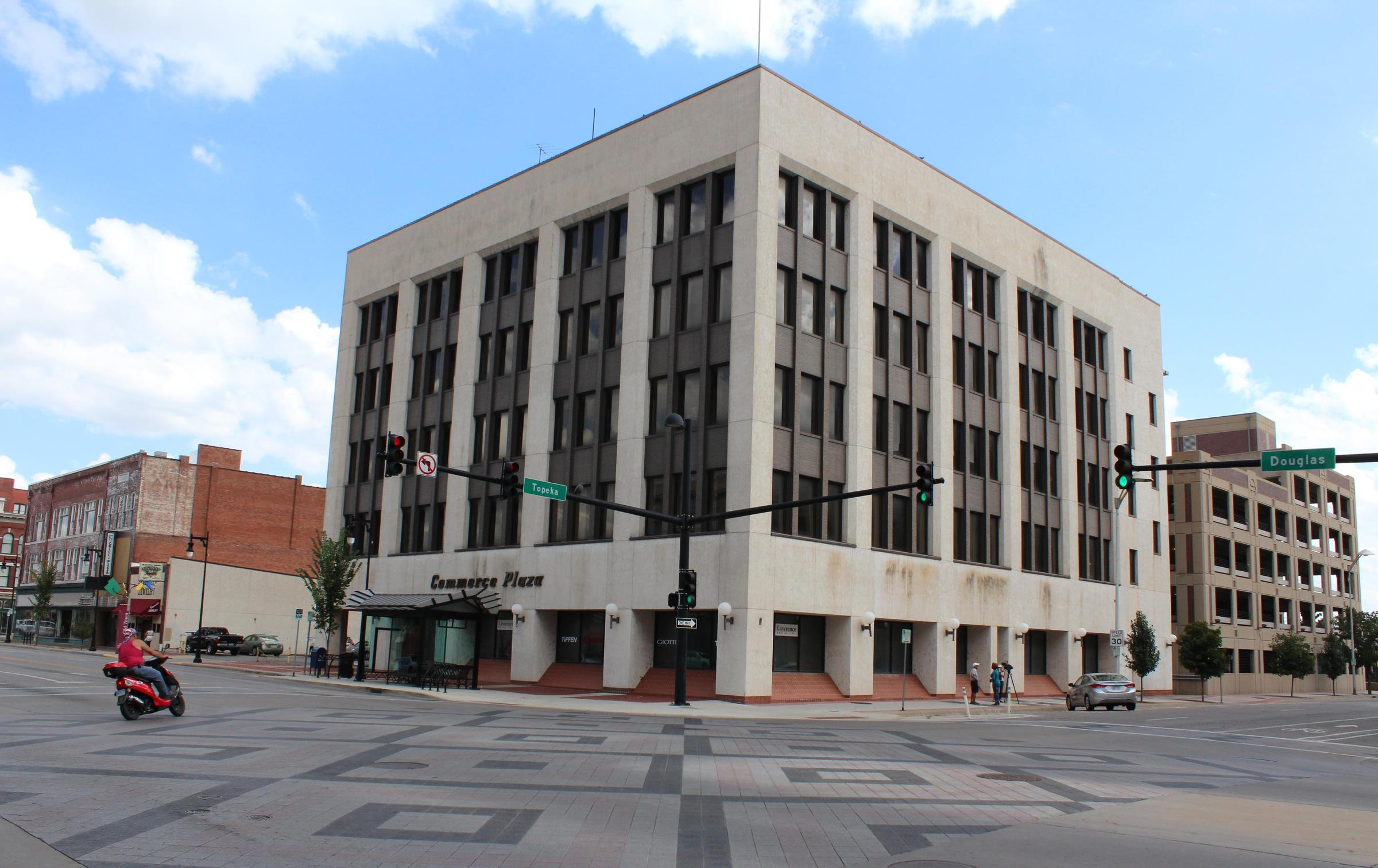 Commerce Plaza At Douglas And Topeka Will Be Renovated Into A New Hilton Garden Inn