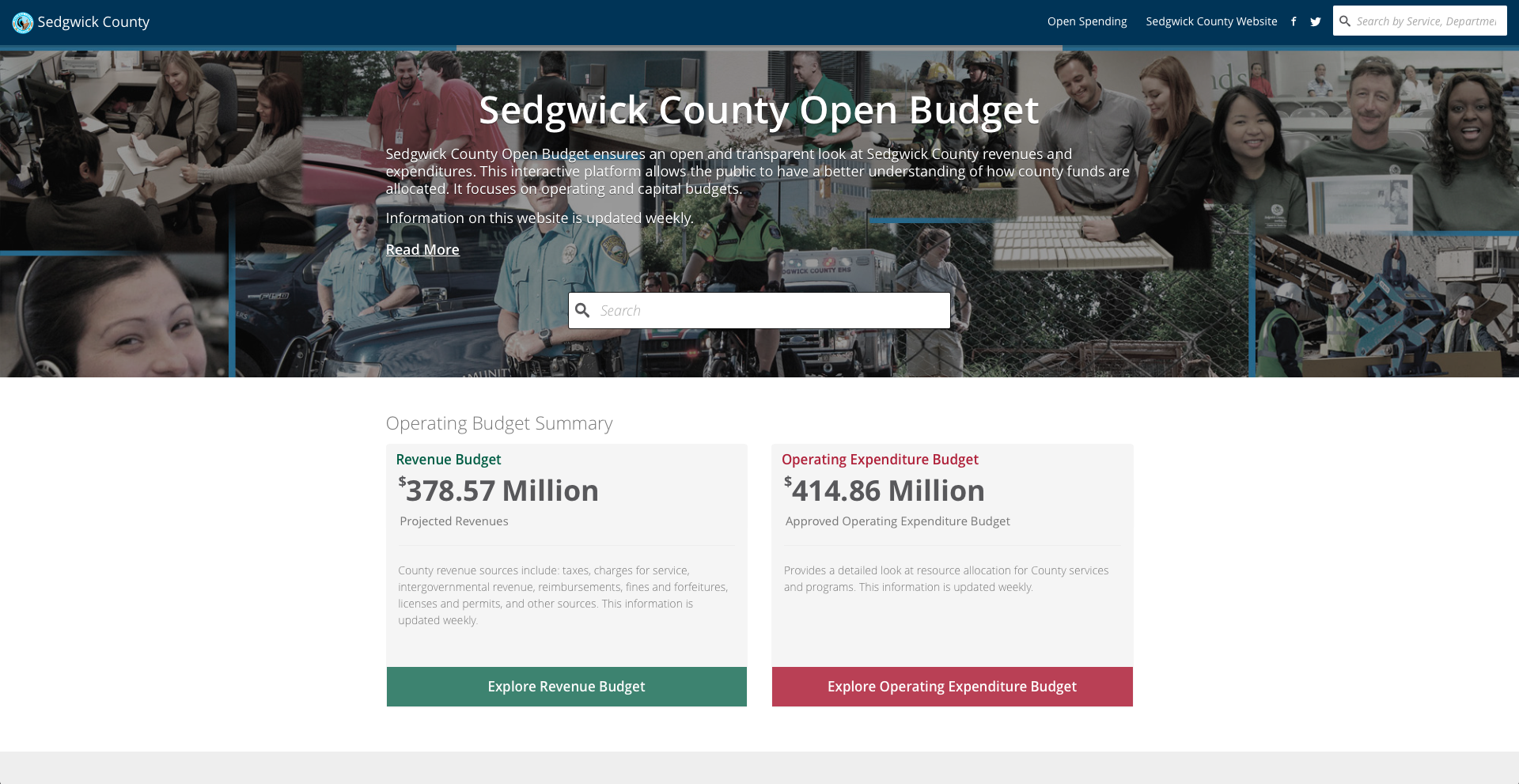 sedgwick county launches interactive budget tool kmuw