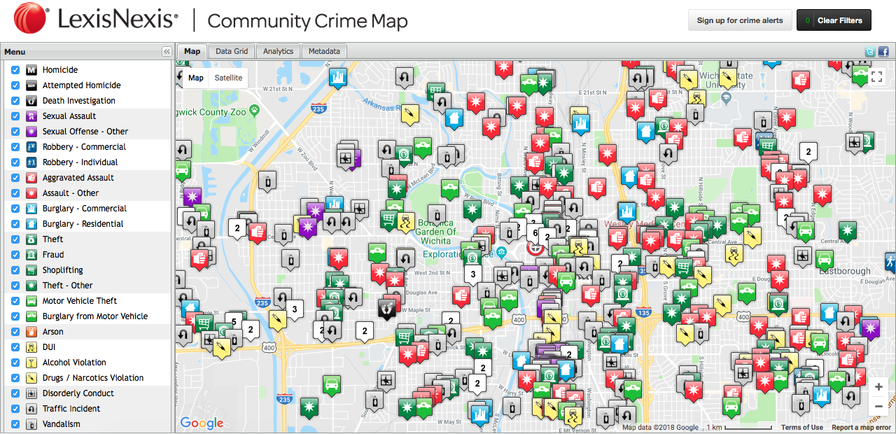 Sex offender map wichita kansas