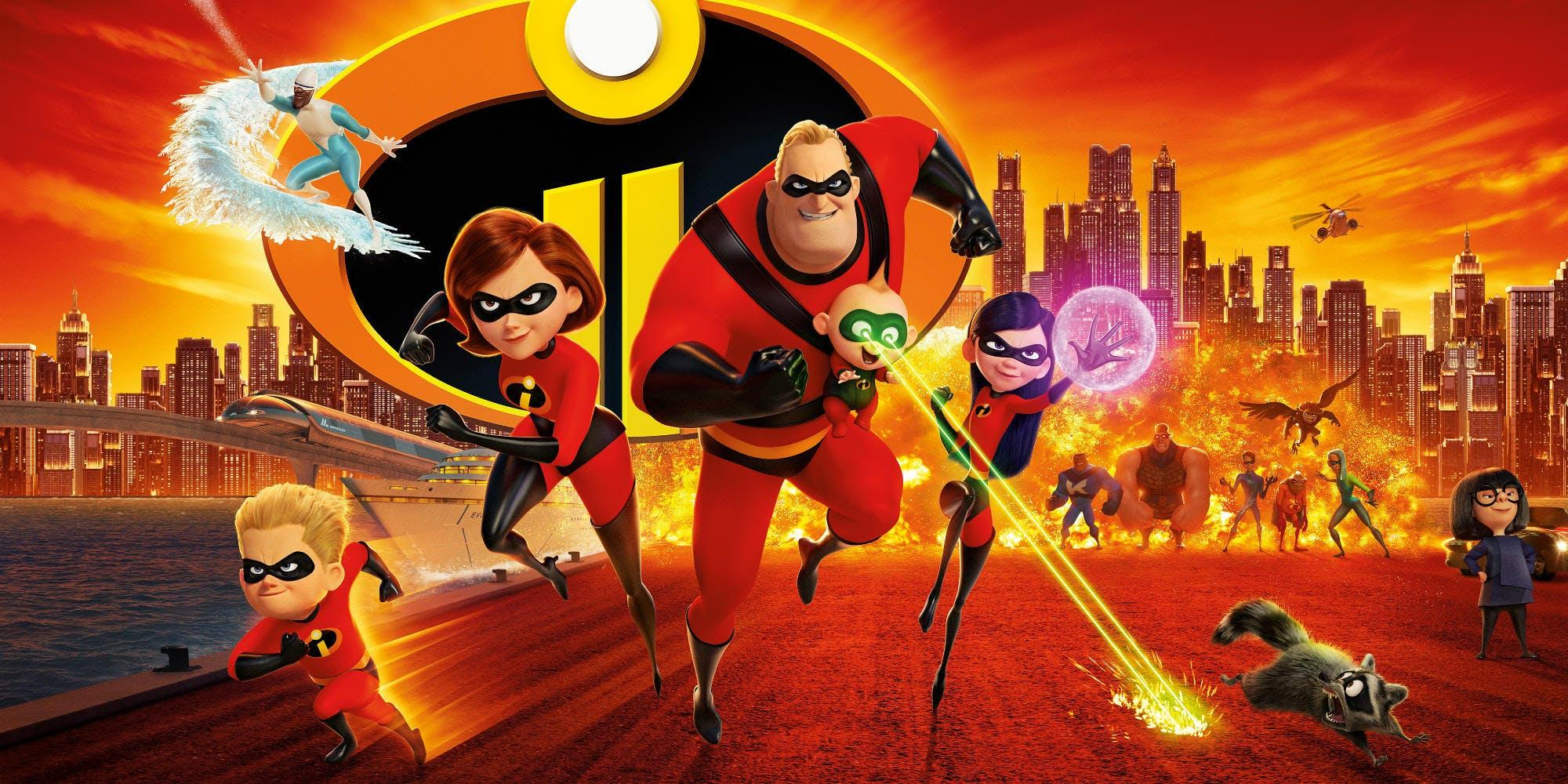 Oscar Nominated Movies - Incredibles 2