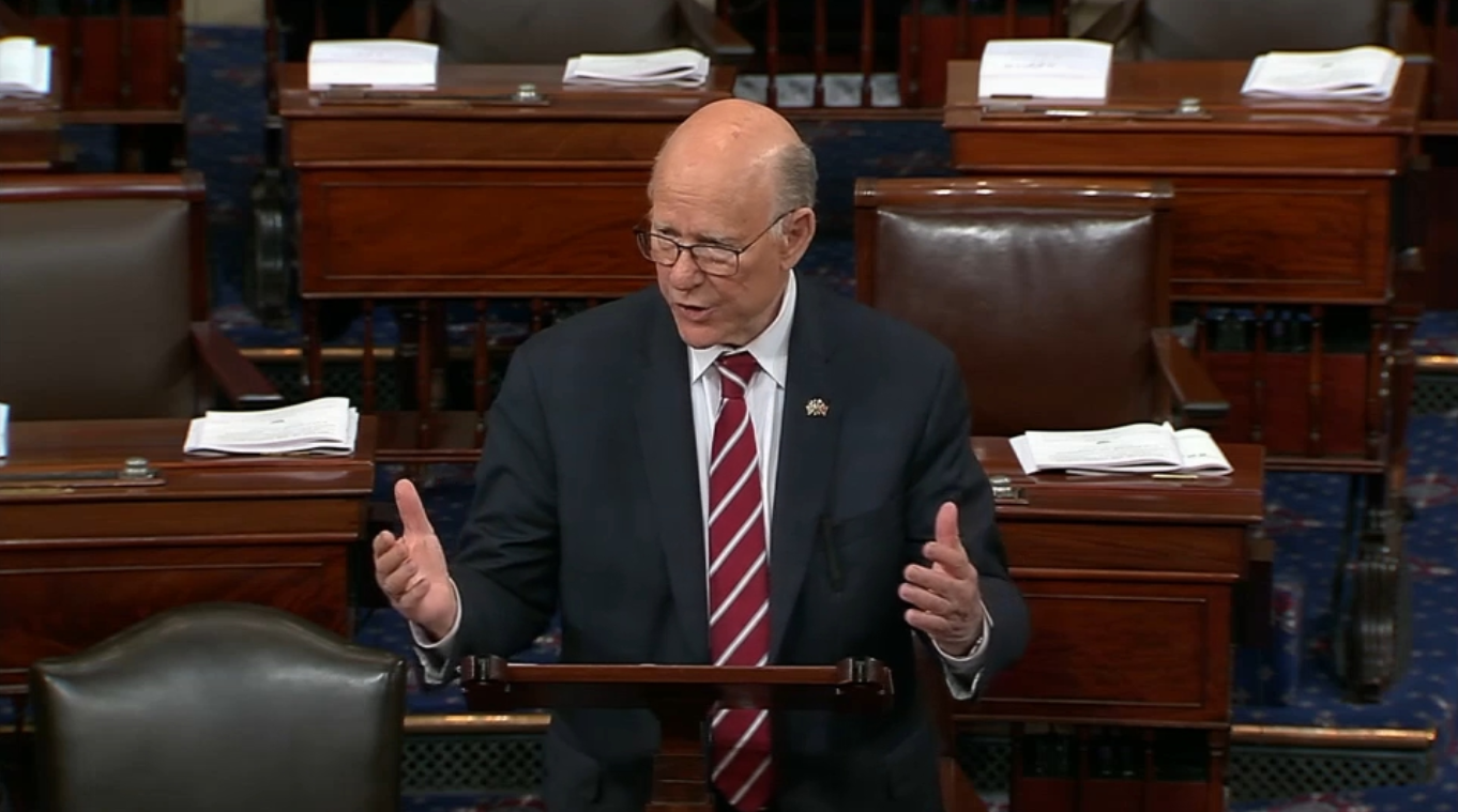 U S Sen Pat Roberts R Kan Chairman Of The Senate Committee On Agriculture Nutrition And Forestry Spoke Floor Tuesday About