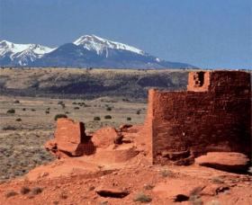 Wupatki National Monument, north of Flagstaff.