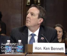 Arizona's Secretary of State testified at a hearing in Washington, D.C. on Wednesday.