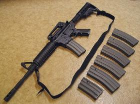 Bushmaster XM15-E2S M4 Style Carbine, straight out of the box