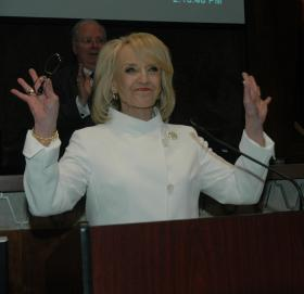 Governor Jan Brewer gives State of the State Address, January 14, 2013