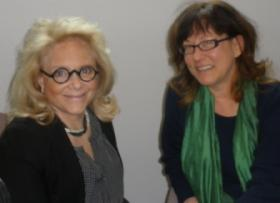 Mary Fisher at KNAU with Constance DeVereaux