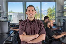 Dr. Greg Caporaso researches microbial genetics and genomics at NAU.