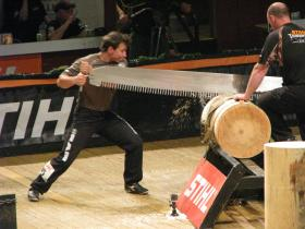 David Gouveia, timbersport champion