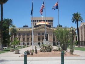 The Arizona State Capitol Phoenix.
