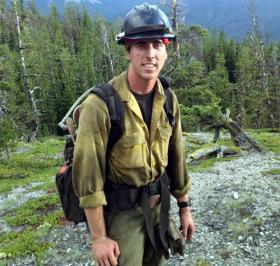Former Granite Mountain Hotshot, Brendan McDonough
