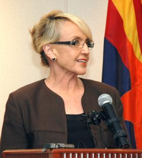 Gov. Jan Brewer details Wednesday why she vetoed legislation that proponents said would prevent religious discrimination.
