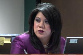 State Sen. Kimberly Yee is resisting a bill that would funnel funds to marijuana research.