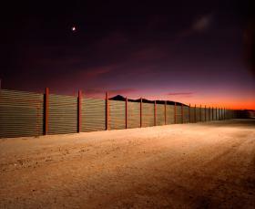 The Arizona-Mexico border