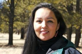 Ann Marie Chischilly, executive director of NAU's Institute of Tribal Environmental Professionals