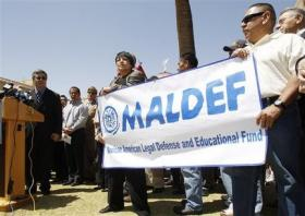 The Mexican American Legal Defense Fund at a 2010 press conference in Phoenix.