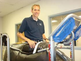 Physical Therapy Professor Dirk de Heer on the Alter G Anti-Gravity Treadmill