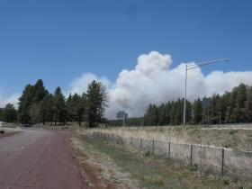 The Slide Fire viewed from Flagstaff.