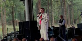 Garrison Keillor in Flagstaff for the Summer of Love Tour.