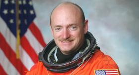 Former commander of the Space Shuttle Endeavor Mark Kelly.