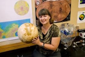 Nadine Barlow, physics and astronomy at Northern Arizona University.