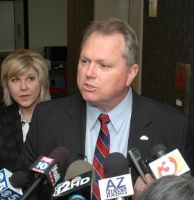 Republican gubernatorial hopeful Scott Smith