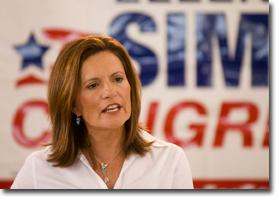 Democrat Ellen Simon plans to win the primary and unseat Republican Rick Renzi in the general election.