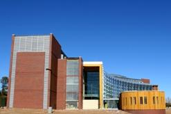 NAU's new Applied Research and Development Building. The 25 million dollar building uses 40% less energy than a typical building of the same size.