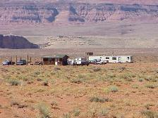 Most homes on the Navajo reservation don't have traditional street addresses.