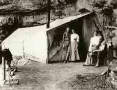 A scene from Louis Boucher's Camp