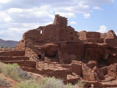 The main ruin at Wupatki National Monument, where archaeoastronomers have found that solar markers are combined with certain phases of the Moon in an intricate system of sky-watching