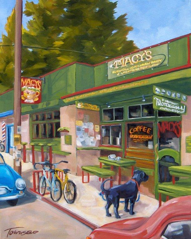 """Macy's Happy Hour\"", by Flagstaff artist Connie Townsend"