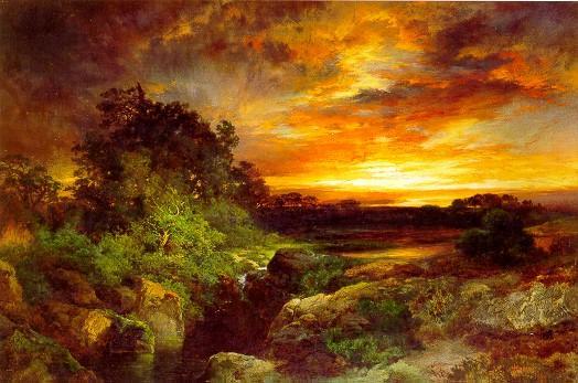 "Thomas Moran, \""An Arizona Sunset Near the Grand Canyon,\"" 1898"