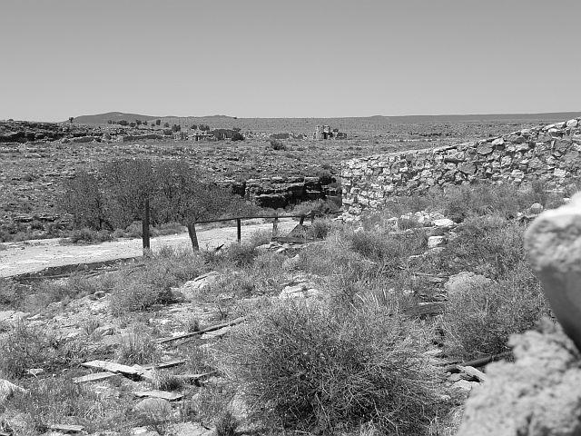 Two Guns, Arizona and the highway that spawned it are now silent.