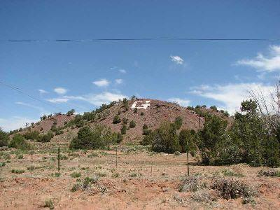 """G\"" marks the spot in Ganado, a remote town in the middle of the sprawling Navajo reservation."