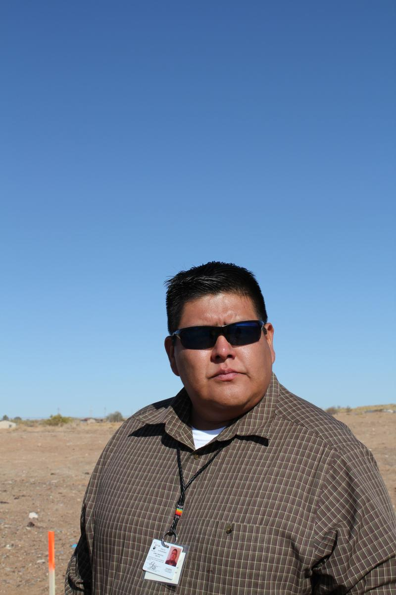 Lionel Puhuyesva, director of the Hopi Tribe's Water Resources Program, says the federal government is stalling on cleaning up the dump by conducting more studies.