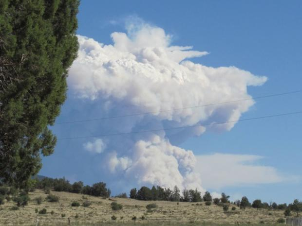 Gila Wilderness Fire May 25, 2012
