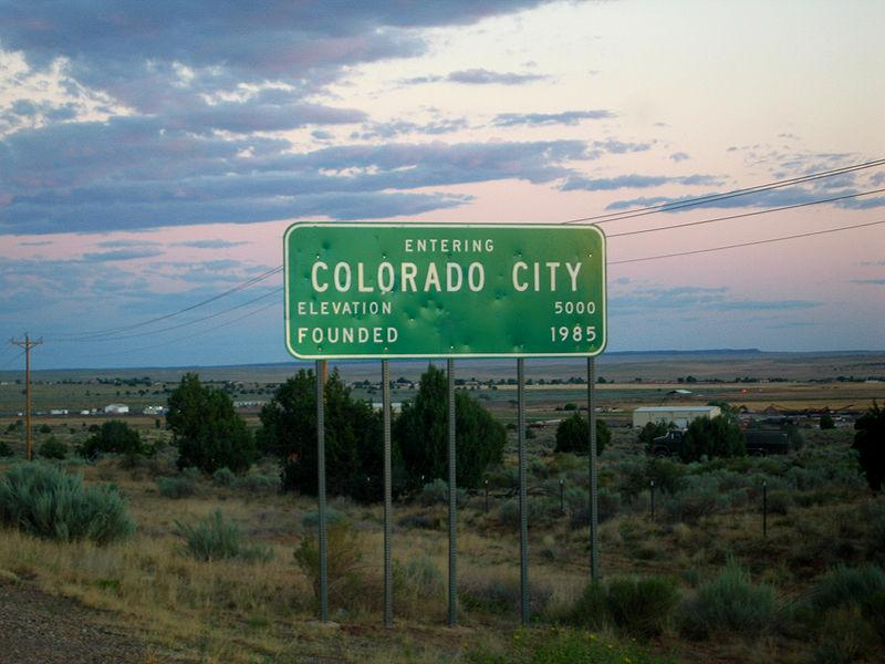 Colorado City, Arizona (same as Hildale, Utah) United States