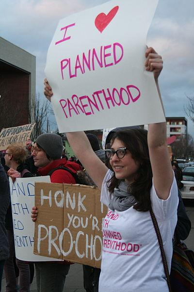 Planned Parenthood Supporters, Feb. 21, 2011 
